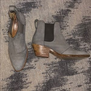 Rag & Bone Walker/Dixon Boot In Grey 38.5
